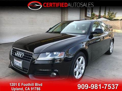 Audi Used Cars Luxury Cars For Sale Upland Upland Certified Autos - Audi luxury cars