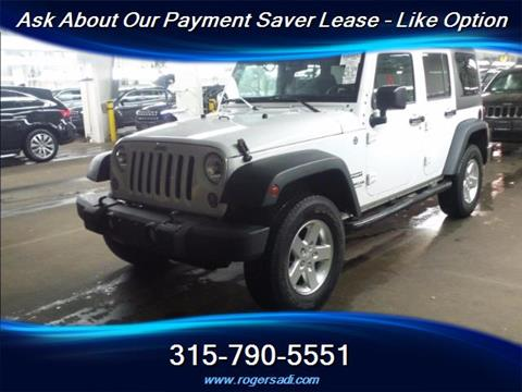2015 Jeep Wrangler Unlimited for sale in Yorkville, NY