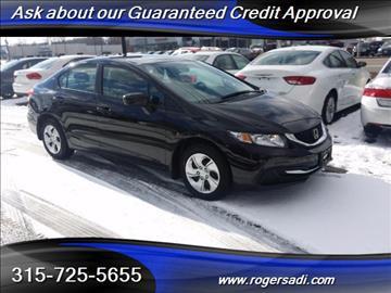 2014 Honda Civic for sale in Yorkville, NY