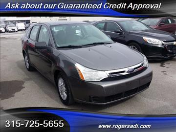 2009 Ford Focus for sale in Yorkville, NY