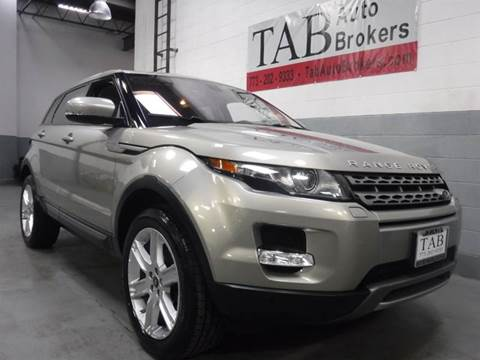2013 Land Rover Range Rover Evoque for sale in Chicago, IL