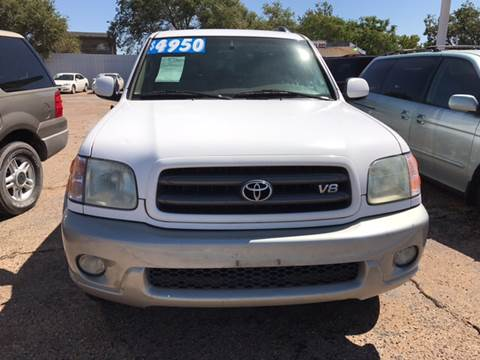 2003 Toyota Sequoia for sale in Lubbock, TX