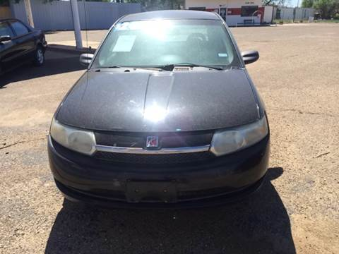 2003 Saturn Ion for sale in Lubbock, TX