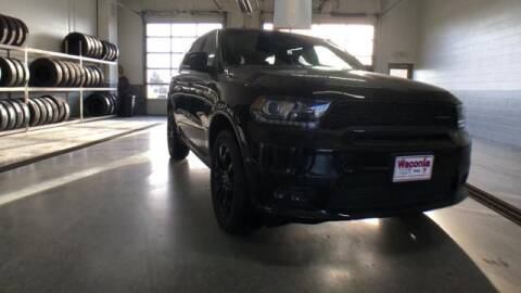 2020 Dodge Durango for sale at Waconia Auto Detail in Waconia MN