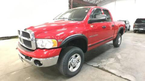 2005 Dodge Ram Pickup 2500 for sale at Waconia Auto Detail in Waconia MN
