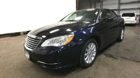 2012 Chrysler 200 Convertible for sale at Waconia Auto Detail in Waconia MN