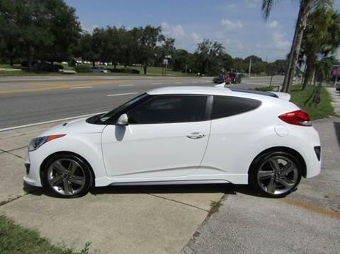 2014 Hyundai Veloster Turbo for sale in Hernando, FL