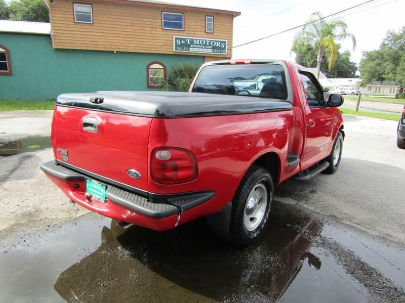 2001 Ford F-150 2dr Regular Cab XLT 2WD Flareside SB - Hernando FL