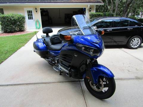 2015 Honda Goldwing for sale in Hernando, FL