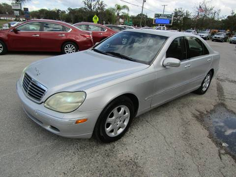 2000 Mercedes-Benz S-Class for sale at S & T Motors in Hernando FL