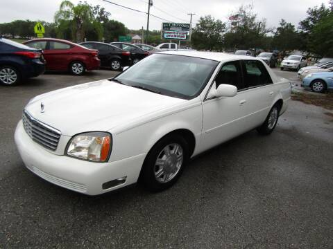 2005 Cadillac DeVille for sale at S & T Motors in Hernando FL