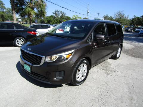 2016 Kia Sedona for sale at S & T Motors in Hernando FL