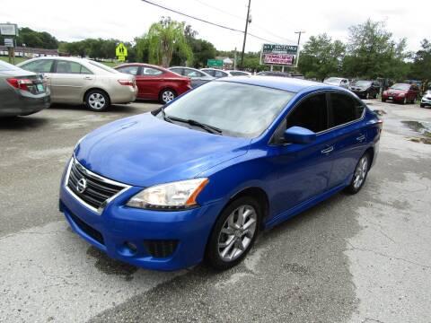 2013 Nissan Sentra for sale at S & T Motors in Hernando FL