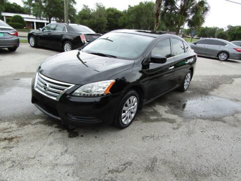 2015 Nissan Sentra for sale at S & T Motors in Hernando FL