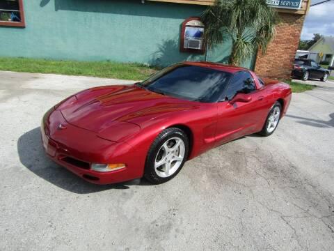 2004 Chevrolet Corvette for sale at S & T Motors in Hernando FL