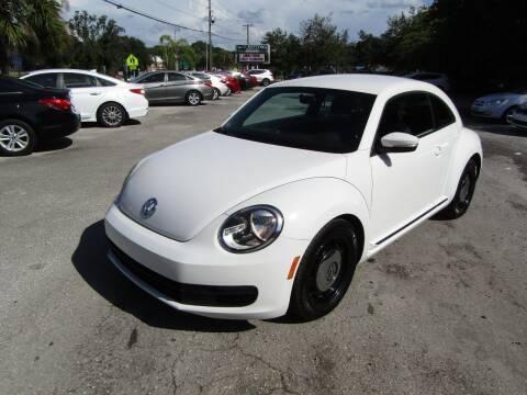 2013 Volkswagen Beetle for sale at S & T Motors in Hernando FL