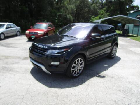 2012 Land Rover Range Rover Evoque for sale at S & T Motors in Hernando FL