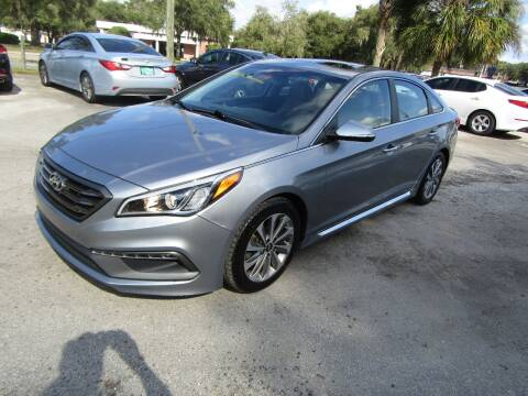 2016 Hyundai Sonata for sale at S & T Motors in Hernando FL