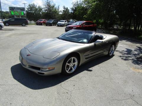 2002 Chevrolet Corvette for sale at S & T Motors in Hernando FL