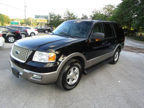 2003 Ford Expedition for sale at S & T Motors in Hernando FL