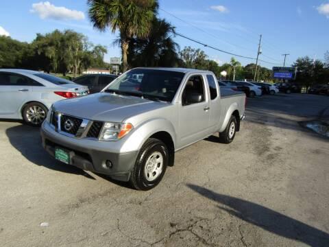 2005 Nissan Frontier for sale at S & T Motors in Hernando FL