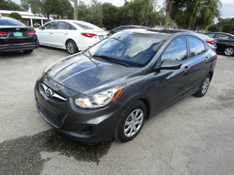 2012 Hyundai Accent for sale at S & T Motors in Hernando FL