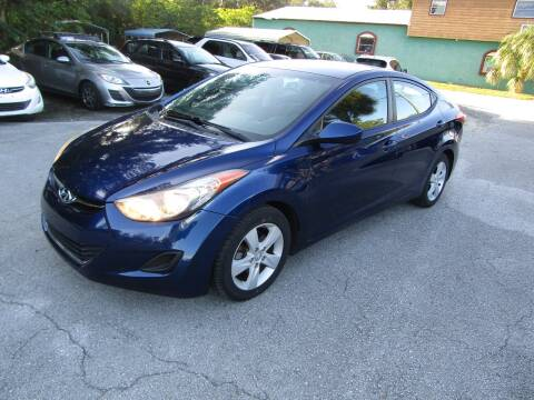 2013 Hyundai Elantra for sale at S & T Motors in Hernando FL