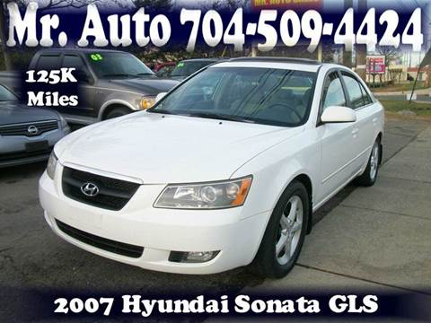 2007 Hyundai Sonata for sale at Mr Auto Sales in Charlotte NC