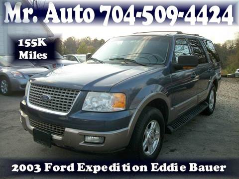 2003 Ford Expedition for sale at Mr Auto Sales in Charlotte NC