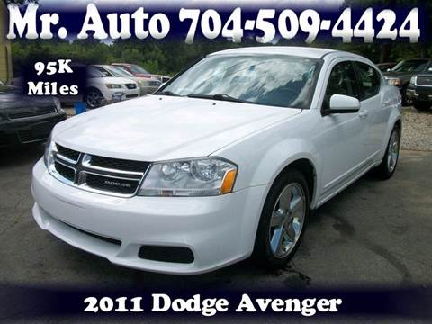 2011 Dodge Avenger for sale at Mr Auto Sales in Charlotte NC