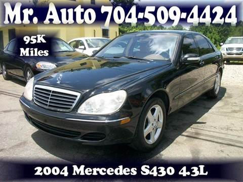 2004 Mercedes-Benz S-Class for sale at Mr Auto Sales in Charlotte NC