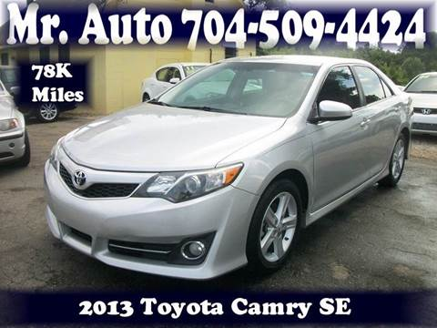 2013 Toyota Camry for sale at Mr Auto Sales in Charlotte NC