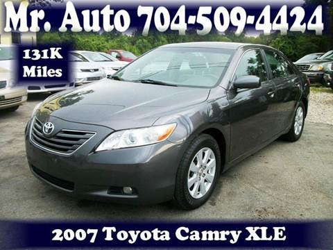 2007 Toyota Camry for sale at Mr Auto Sales in Charlotte NC