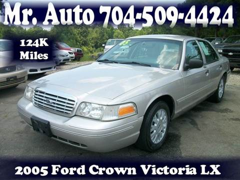 2005 Ford Crown Victoria for sale at Mr Auto Sales in Charlotte NC