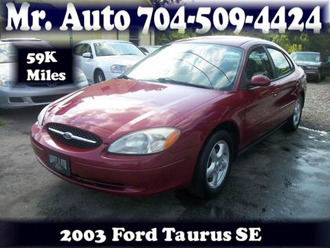 2003 Ford Taurus for sale at Mr Auto Sales in Charlotte NC