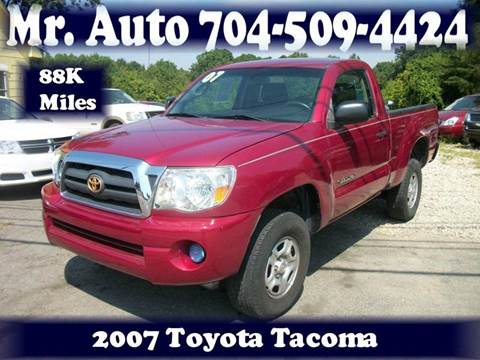 2007 Toyota Tacoma for sale at Mr Auto Sales in Charlotte NC