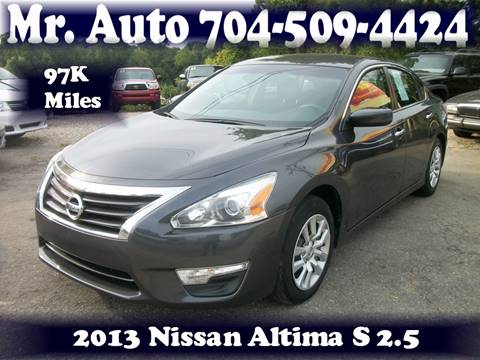 2013 Nissan Altima for sale at Mr Auto Sales in Charlotte NC