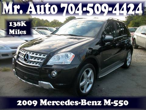 2009 Mercedes-Benz M-Class for sale at Mr Auto Sales in Charlotte NC