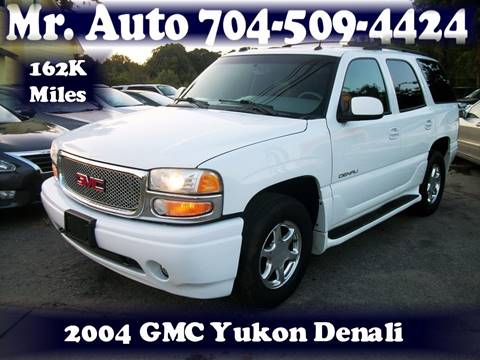 2004 GMC Yukon for sale at Mr Auto Sales in Charlotte NC