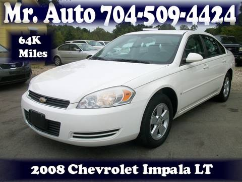 2008 Chevrolet Impala for sale at Mr Auto Sales in Charlotte NC