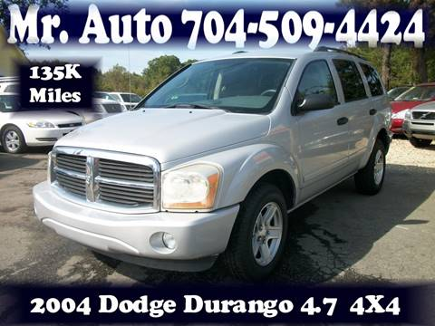 2004 Dodge Durango for sale in Charlotte, NC