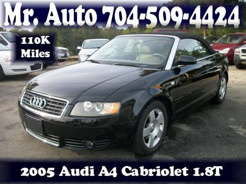 2005 Audi A4 for sale at Mr Auto Sales in Charlotte NC