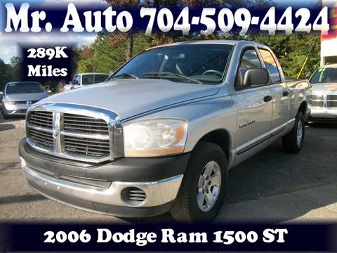 2006 Dodge Ram Pickup 1500 for sale at Mr Auto Sales in Charlotte NC