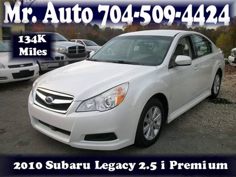 2010 Subaru Legacy for sale at Mr Auto Sales in Charlotte NC