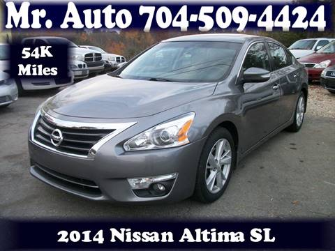 2014 Nissan Altima for sale at Mr Auto Sales in Charlotte NC