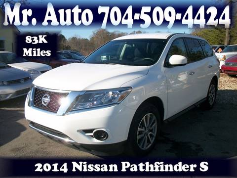 2014 Nissan Pathfinder for sale at Mr Auto Sales in Charlotte NC