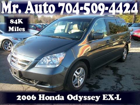 2006 Honda Odyssey for sale at Mr Auto Sales in Charlotte NC