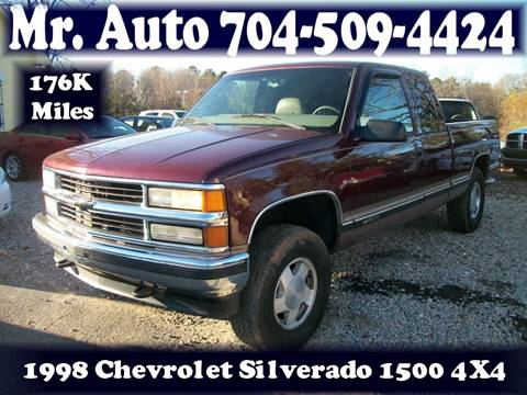 1998 Chevrolet C/K 1500 Series for sale at Mr Auto Sales in Charlotte NC