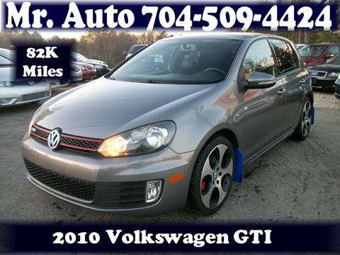 2010 Volkswagen GTI for sale at Mr Auto Sales in Charlotte NC