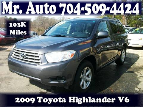 2009 Toyota Highlander for sale at Mr Auto Sales in Charlotte NC